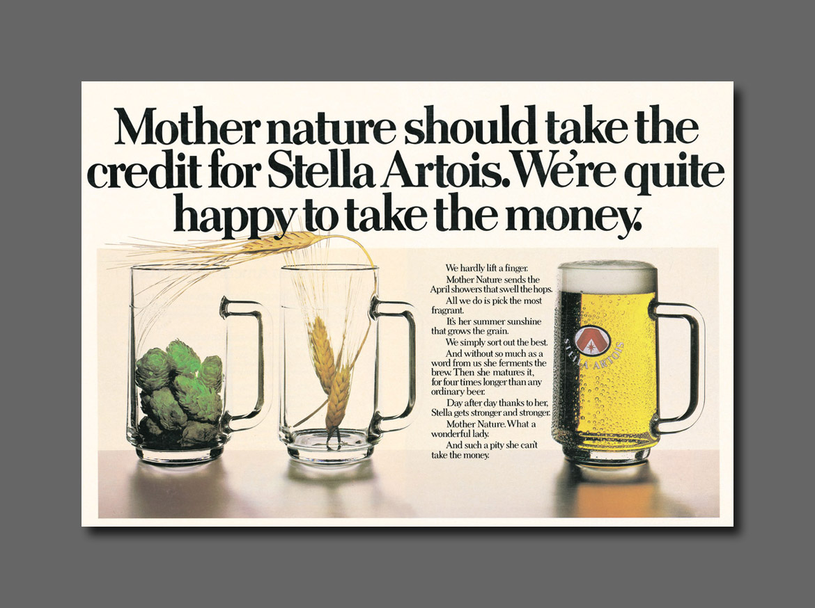 Magazine - Stella Artois - Mother-nature