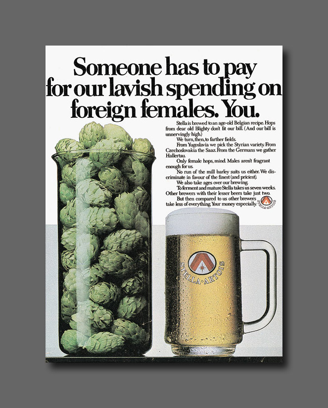 Magazine - Stella Artois - Someone-has-to-pay