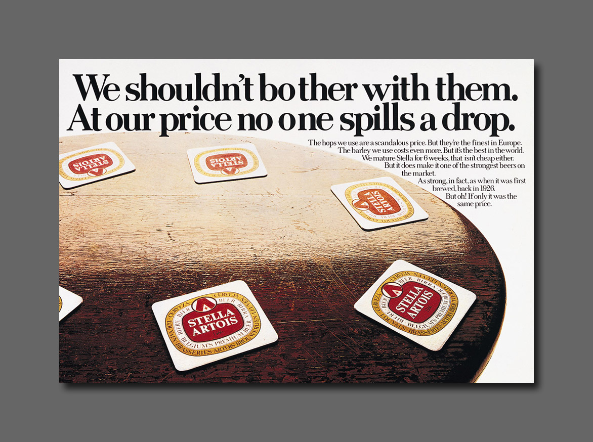 Magazine - Stella Artois - We-shouldnt-bother-with-them