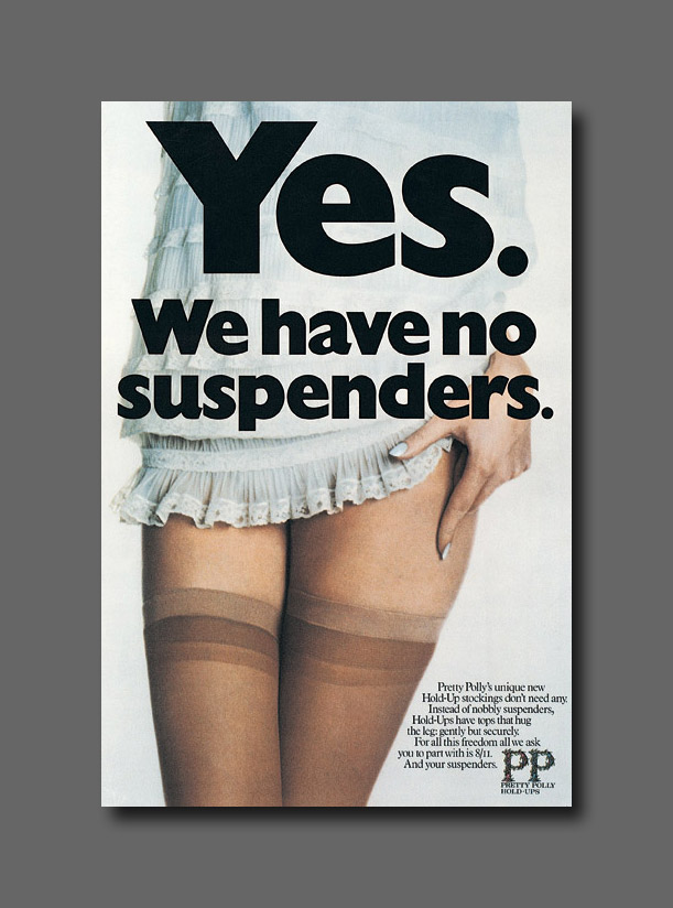 Magazine - Pretty Polly - Yes-we-have-no-suspenders